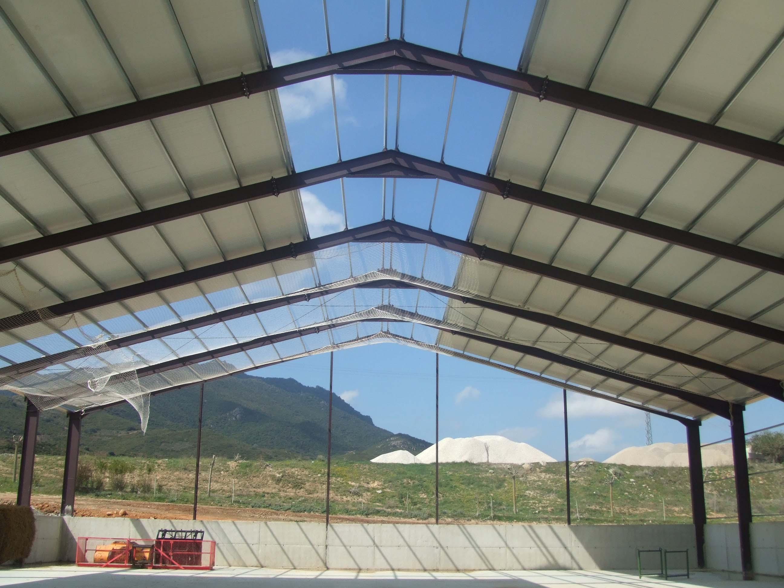 Construcciones met licas begu s l for Cubiertas para techos de casas